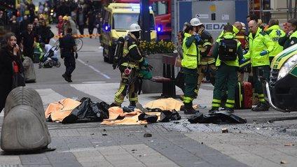 Теракт у Стокгольмі - фото 1