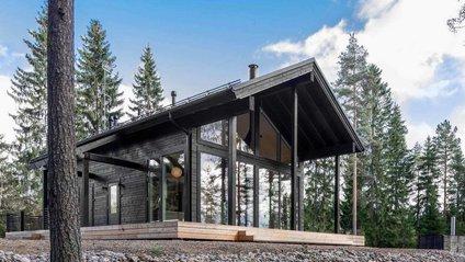 Як виглядає будинок мрії з колод у Фінляндії: ефектні фото - фото 1
