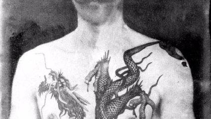 Як виглядали роботи першого тату-майстра Британії: ефектні фото - фото 1