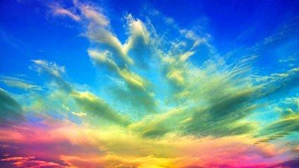 Кольорові хмари - фото 1