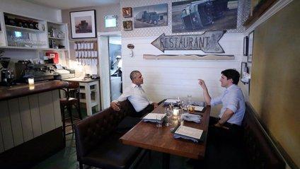 Улюблениць публіки Трюдо зустрівся з Обамою: реакція мережі - фото 1