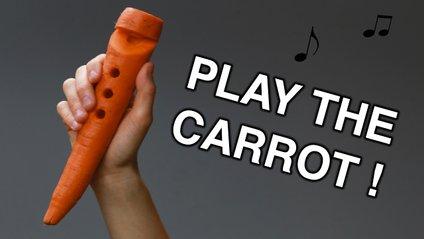 Грай на здоров'я: як роблять сопілку з морквини - фото 1