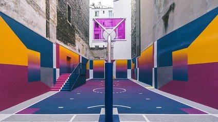 Баскетбольний майданчик - фото 1