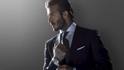 Бекхем став обличчям відомого німецького бренду: ефектні фото - фото 1