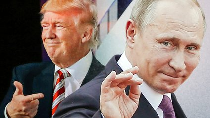Трамп і Путін (колаж) - фото 1
