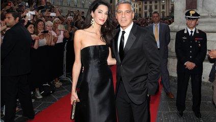 Джордж і Амаль Клуні - фото 1