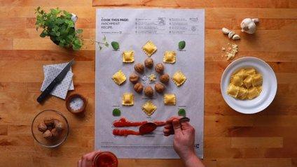 """Приготуйте цю сторінку! IKEA створила інструкцію зі """"збору"""" рецептів - фото 1"""