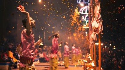 Як виглядає священне місто в Індії: вражаючі фото - фото 1