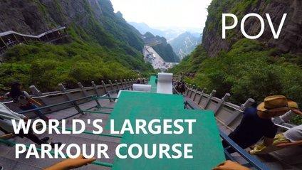 Найбожевільніша гірка у Китаї: відео не для слабкодухих - фото 1