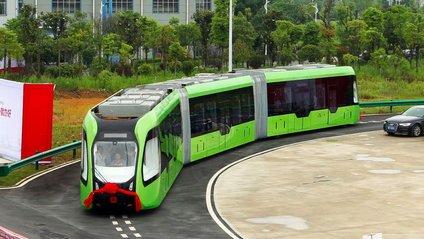 У Китаї представили новий вид транспорту - фото 1