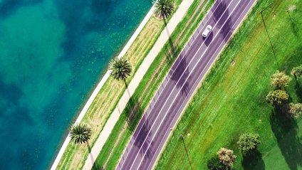 Неймовірна Австралія з висоти пташиного польоту: яскраві фото - фото 1