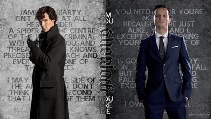 Sherlock and Moriarty - фото 1