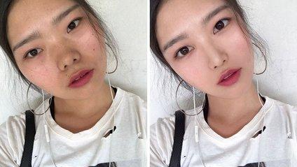 У мережі VS у житті: майстер фотошопу показала, як насправді виглядають китайці - фото 1