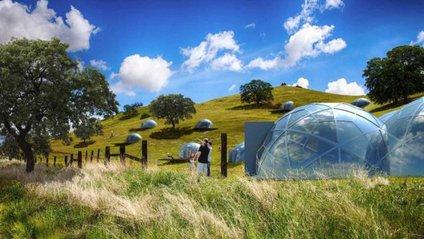 Як виглядають футуристичні помешкання-куполи у Словенії: ефектні фото - фото 1