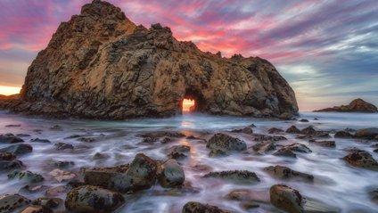 Яскраві фото неземного пляжу в Каліфорнії - фото 1