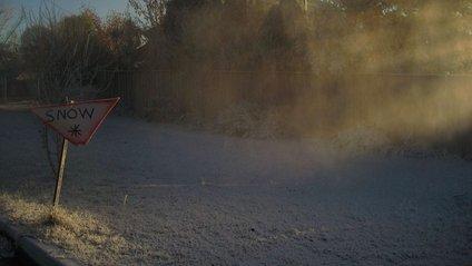 """Австралієць """"створив сніг"""", щоб відчути справжню зиму - фото 1"""