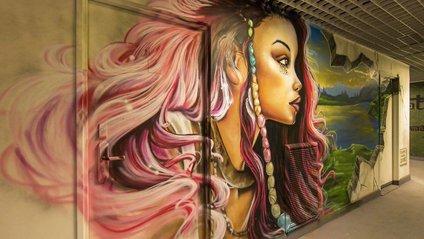 Дуже круто! Університетське містечко Парижа розмалювали яскравими графіті - фото 1