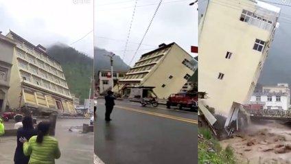 Будинок впав у ріку - фото 1