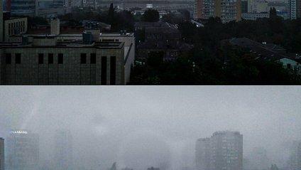 Буря в місті призвела до аварій на лініях електропередач - фото 1