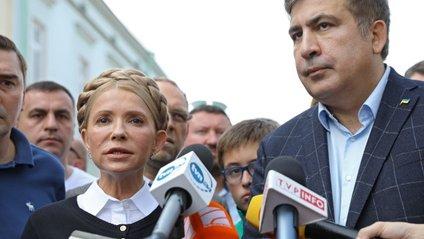 Саакашвілі подякував Тимошенко за допомогу - фото 1
