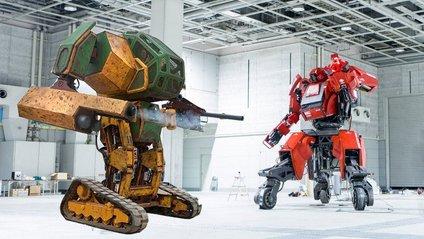 Битва двох гігантських роботів - фото 1