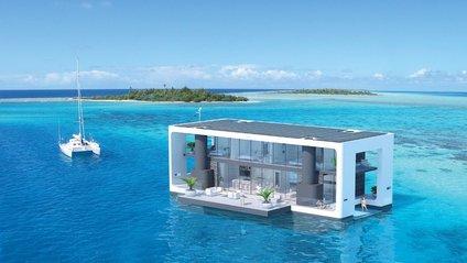Плаваючий, повністю автономний будинок - фото 1