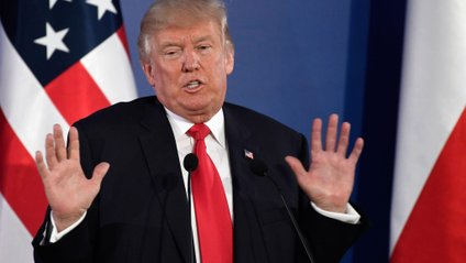 Трамп знову забув слова - фото 1