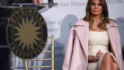 Меланія Трамп передала свою сукню в Музей американської історії - фото 1