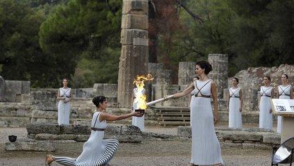 Запалили вогонь зимової Олімпіади-2018 - фото 1
