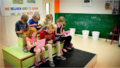 У Китаї перед уроками учні обов'язково роблять зарядку - фото 1