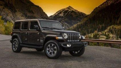 Перші фото Jeep Wrangler - фото 1