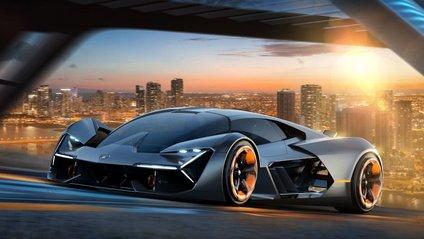 Компанія Lamborghini представила наносуперкар Terzo Millennio Concept - фото 1