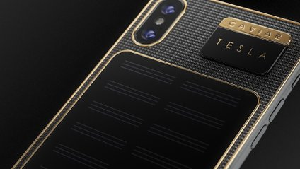 iPhone X Tesla: розкішний смартфон, який уміє сам себе заряджати - фото 1