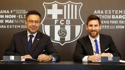 Мессі продовжив контракт з Барселоною - фото 1