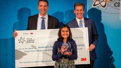 Школярка виграла 25 тисяч доларів за науковий винахід - фото 1