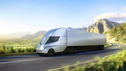 Перше відео розгону вантажівки Tesla - фото 1