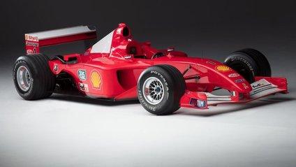 Чемпіонський болід Шумахера продали за понад 7 мільйонів доларів - фото 1