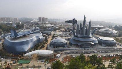 У Китаї закінчили будівництво парку віртуальної реальності - фото 1