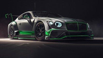 Bentley презентувала новий Continental GT3 - фото 1
