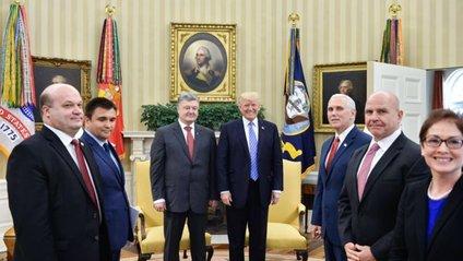 Порошенко - Трамп - фото 1