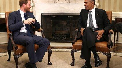 Принц Гаррі взяв інтерв'ю у Барака Обами - фото 1