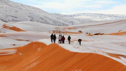 Сахару раптово засипало снігом - фото 1