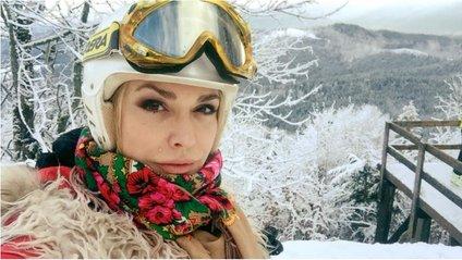 Ольга Сумська в горах - фото 1