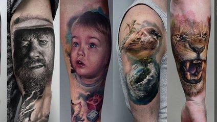 Цей художник робить настільки реалістичні тату, що важко повірити - фото 1