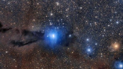 Опубліквано детальне відео темної туманності Вовка - фото 1