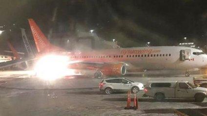 В аеропорту Канади зіткнулися два літаки - фото 1
