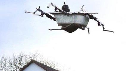 """У Німеччині створили """"літаючу ванну"""" - фото 1"""