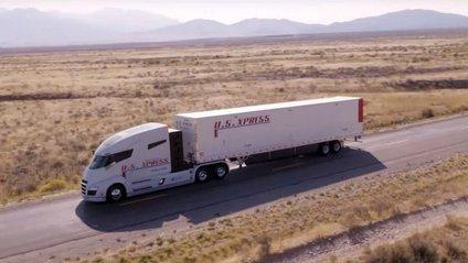 Nikola продемонструвала свою вантажівку на відео - фото 1