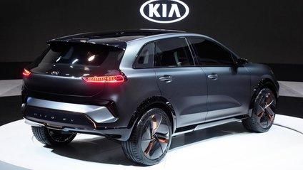 Kia побудувала електричний кросовер - фото 1