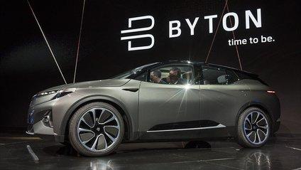 Перший кросовер марки Byton презентовано офіційно - фото 1